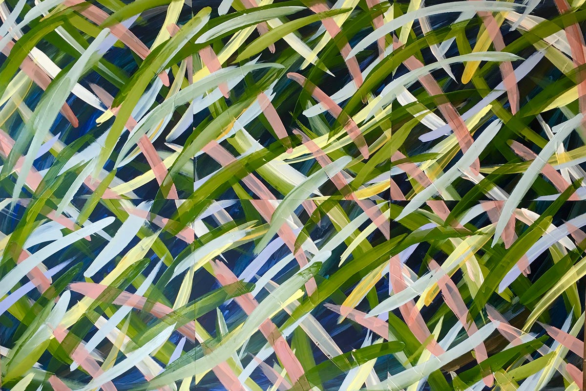 Painting 11 - 6 panels