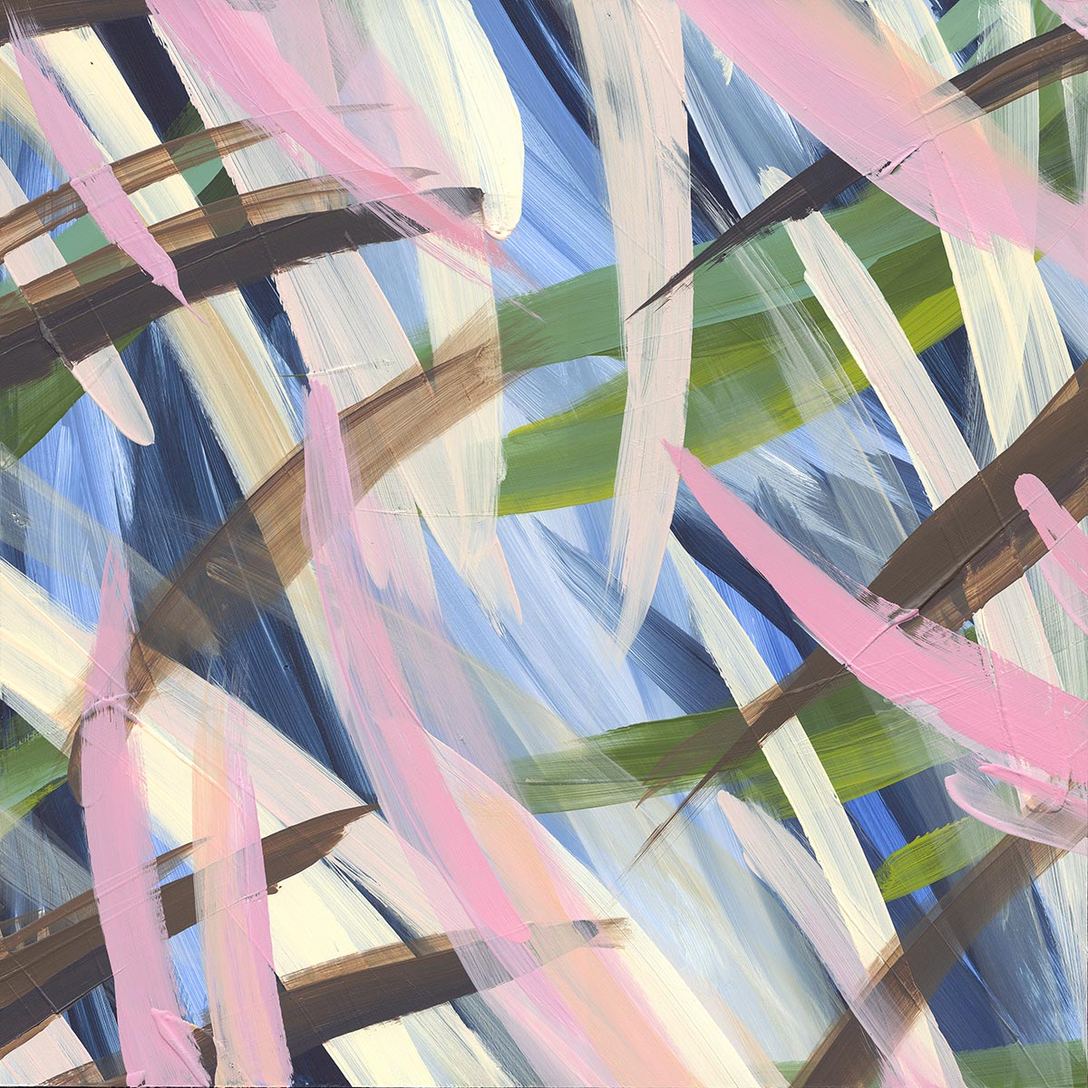Continuous Painting 8 - Lori Dorfman
