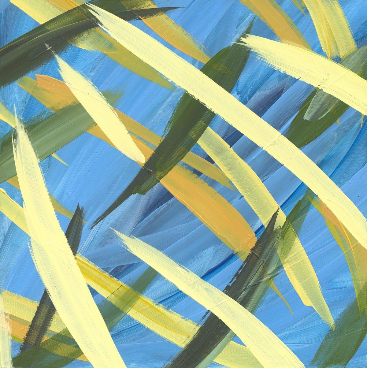 Continuous Painting 14 Lori Dorfman abstract color acrylic art