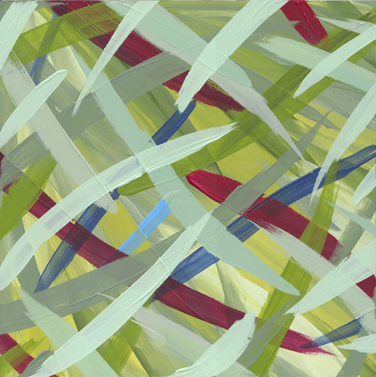 Continuous Painting 16 Lori Dorfman abstract color acrylic art