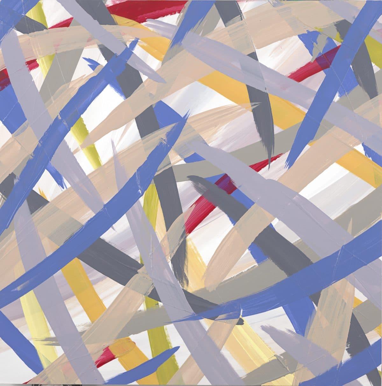 Continuous Painting 17 Lori Dorfman abstract color acrylic art